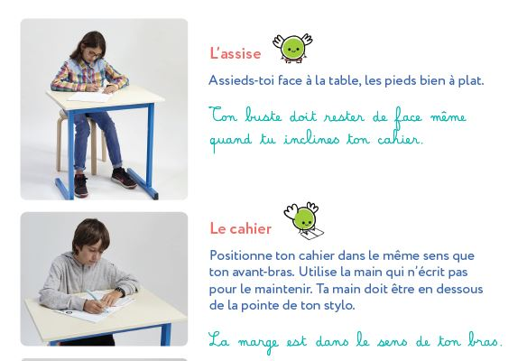assise cahier